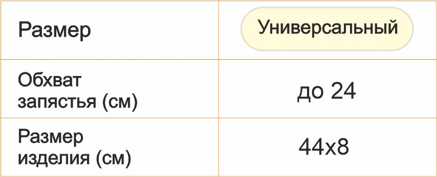 рус Напульсник для текста